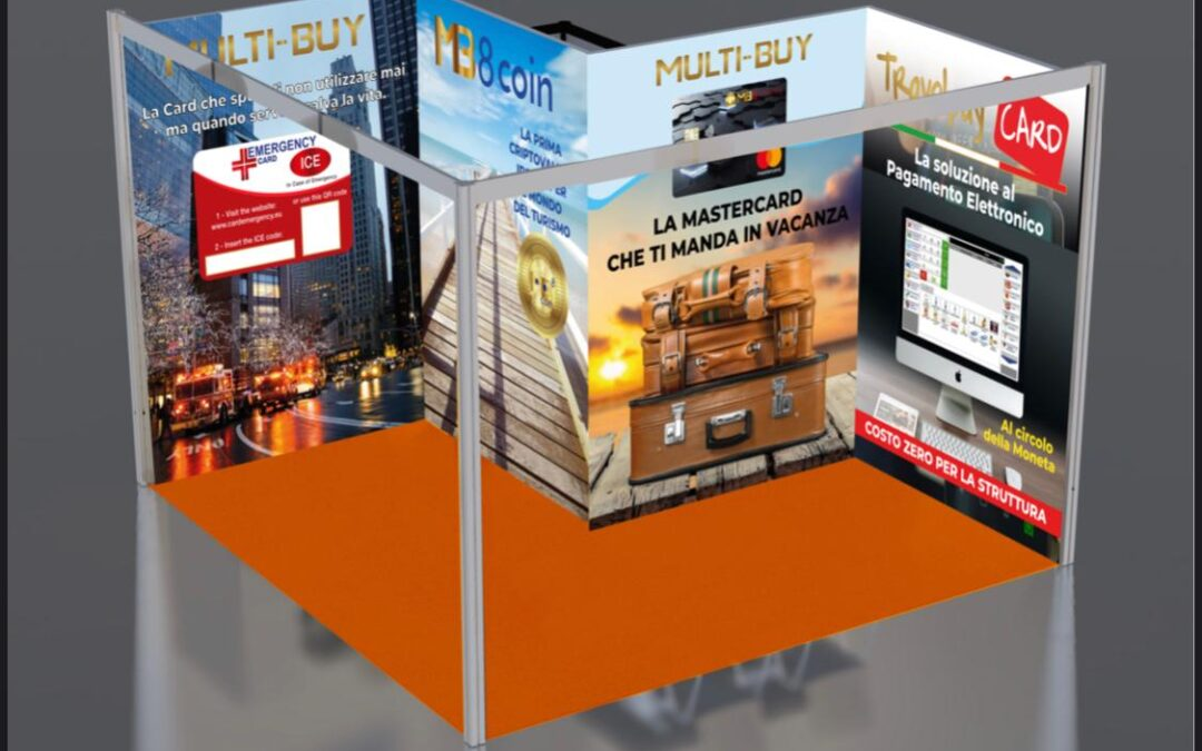 MB8 Coin TTG, International Tourism Fair, Rimini, Italy